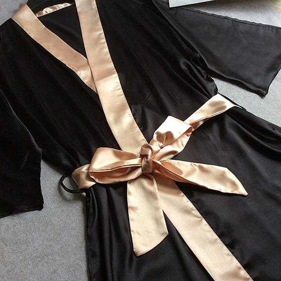 Bata O Kimono Elegante (excelente Calidad)