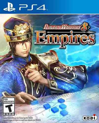 Jogo Novo Dynasty Warriors 8 Empires Para Playstation 4 Ps4