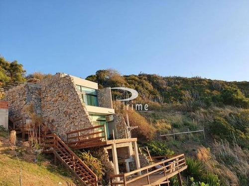 Casa Com 2 Dormitórios À Venda, 105 M² Por R$ 1.500.000,00 - Pontal Do Atalaia - Arraial Do Cabo/rj - Ca0804