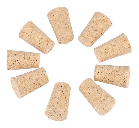 Corchos Conico Aglomerados Tapones Botella 3/4 Vino (x500un)