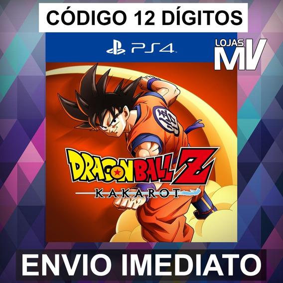 Dragon Ball Z Kakarot Código 12 Dígitos Ps4