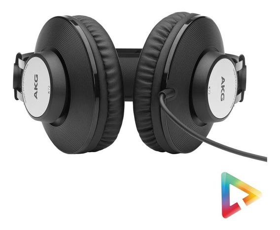 Headphone Fone De Ouvido Akg Over Ear K72 Profissional