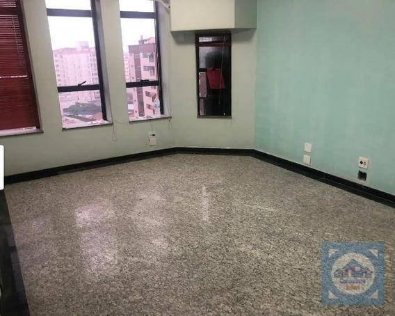 Sala Para Alugar, 54 M² Por R$ 1.800,00/mês - Embaré - Santos/sp - Sa0133