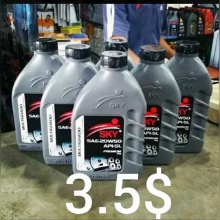 Aceite Lubricante Sky 20w50 4$