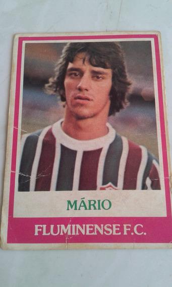 Ping Pong Futebol Cards Mário Fluminense 398 Bom Estado