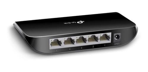 Switch 5 Bocas Tp-link Tl-sg1005d 1005 Gigabit 10/100/1000