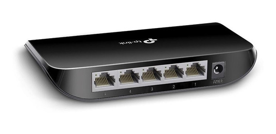 Switch 5 Bocas Tp-link Tl-sg1005d 1005 Gigabit 10/100/1000
