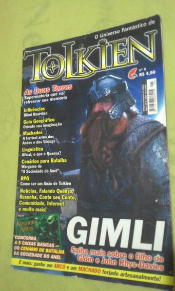 Revista O Universo Fantástico De Tolkien No. 8