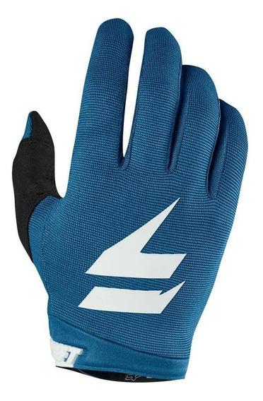 Guantes Moto White Air Glove Azul Shift. .