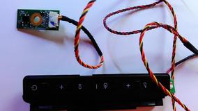 Teclado + Sensor Tv Philips Modelo: 32pfl3707d/78