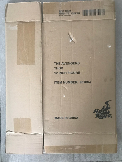 Caja Café Hot Toys Thor Avengers Mms175 Emc