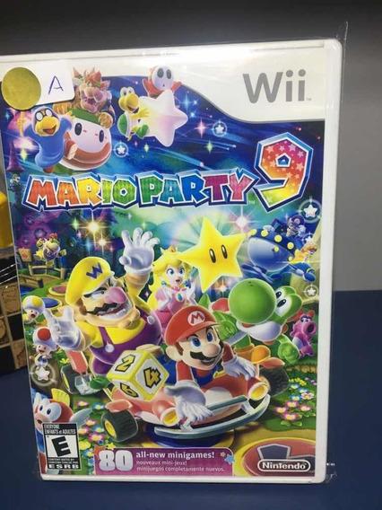 Mário Party 9- Jogo Para Nintendo Wii Seminovo- Rf45