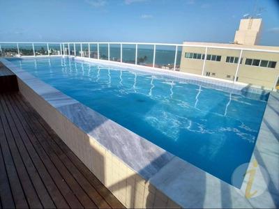 Apartamento Com 3 Dormitórios Para Alugar, 67 M² Por R$ 1.300/mês - Areia Dourada - Cabedelo/pb - Ap5121