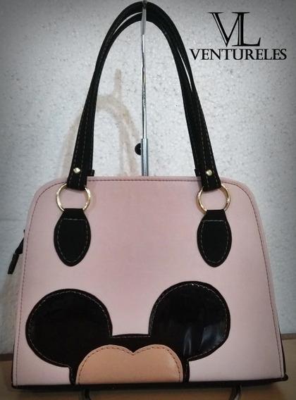 Kit Atacado Bolsas Femininas Ventureles Mickey 12 Und