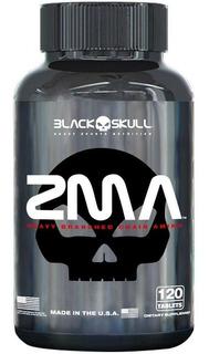 Zma 120 Caps Aumento Da Testosterona - Blackskull Original