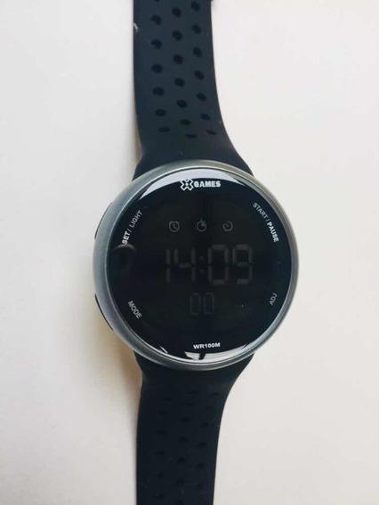 Relógio Xgames Digital Negativo Masculino Xmppd485 Original