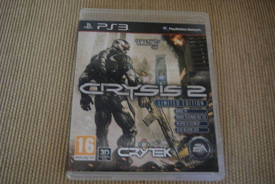 Jogo Ps3 - Crysis 2