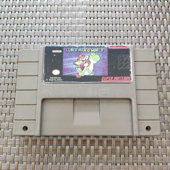 Super Mario World - Snes Super Nintendo - Paralelo