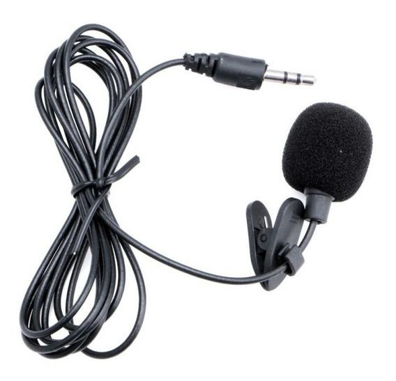 Kit Microfone Lapela + Adaptador+ Brinde