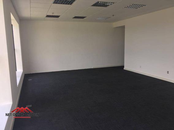 Sala Comercial Para Locação, Jardim Aquarius, São José Dos Campos. - Sa0074