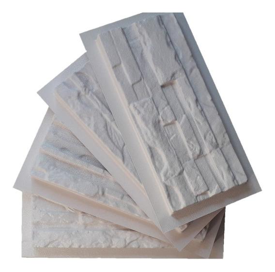 2 Moldes Abs Fachaleta Pared Fachada 3d Yeso Concreto Piedra