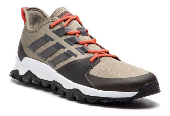 Tênis adidas Kanadia Trail - Masculino - Bege/preto