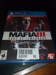 Mafia 3 Pase De Temporada Ps4