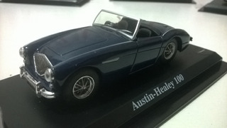 Miniatura 1/43 Auto Colection Del Prado Austin Healey 100