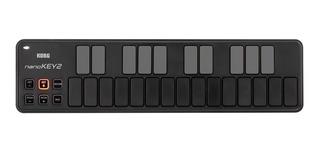 Korg Nanokey2 Mini Teclado Controlador Usb-midi 2 Colores,