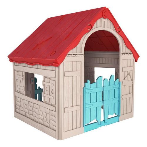 Casa De Juego Doble Puerta Keter