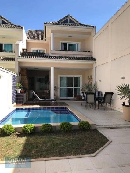 Casa Com 4 Dormitórios À Venda, 186 M² Por R$ 1.050.000,00 - Anil - Rio De Janeiro/rj - Ca0811