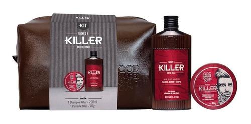 Imagem 1 de 2 de Kit Killer | Killer Matte + Shampoo Killer + Necessaire Qbs