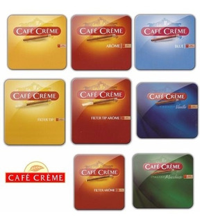 Cigarritos Cafe Creme Mini X 10 -original-arome-blue-coffee