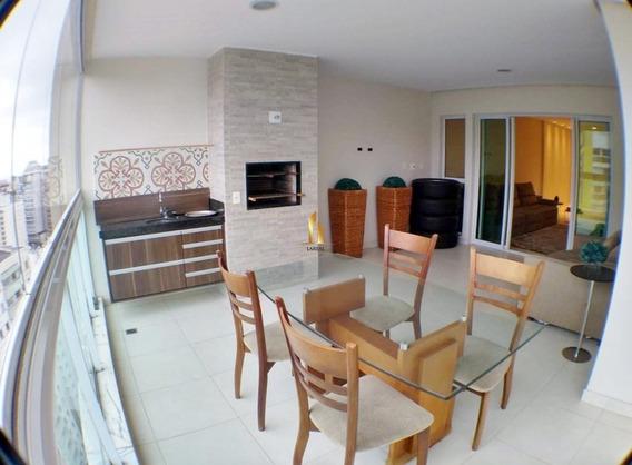 La Plage Residencial - Apartamento 04 Quartos Montado E Decorado No Parque Das Castanheiras. - 1472