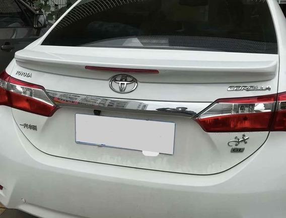 Aplique Friso Aerofólio Traseiro Toyota Corolla Xrs 17 18 19