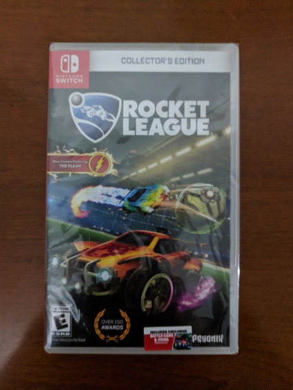 Rocket League Collectors Edition Switch Lacrado