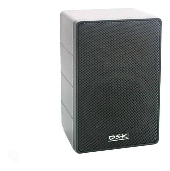 Caixa Acústica Som 1500 Dsk Pequena Preta