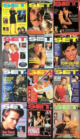 Revista Set 1992 Ano Completo (12 Edições) Perfeito Estado