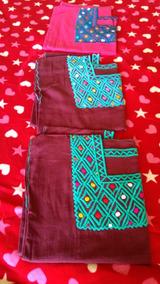 Paquete De 12 Blusas Zinacantan Con 12 Cintos Lisos.