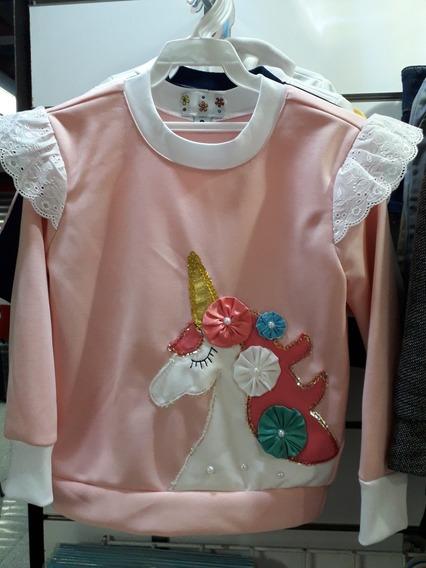 Suéter Unicornio Niñas Talla 8