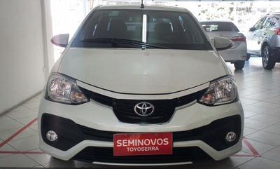 Etios 1.5 Platinum Sedan 16v Flex 4p Automatico 2017/2018