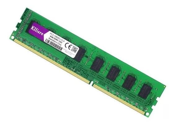 Memória Ram Ddr3 8gb 1600mhz P/ Amd Am3 Am3+ Fm1/2 Kllisre
