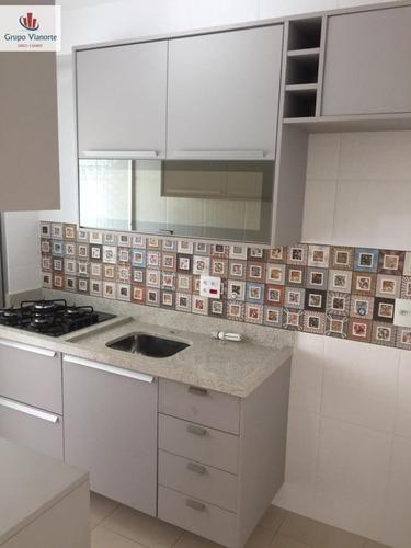 Apartamento A Venda No Bairro Vila Guilherme Em São Paulo - - N134-1