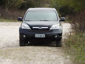 Honda Crv 4x4. Preta. Couro. Multimidia. 4 Pneus 0km