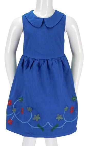 Vestido Innermotion De Mezclilla Para Niñas. Estilo 7144