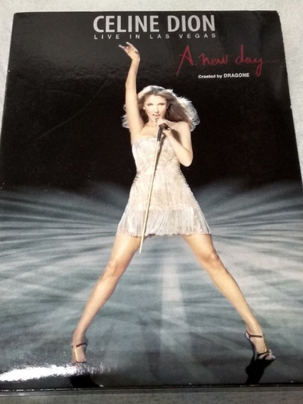 Dvd Celine Dion Live In Las Vegas-a New Day