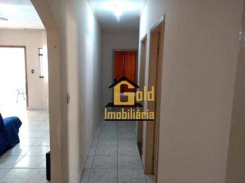 Casa 3 Dormitórios Com 95 M² Para Venda Por R$ 200.000,00/- Alexandre Balbo - Ribeirão Preto Sp - Ca0717