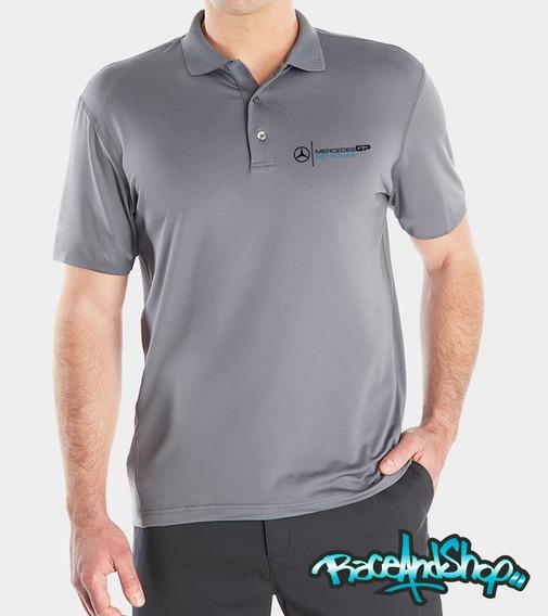 Playera Premium Polo Dryfit Envio Gratis Mercedes Petronas