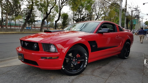 Ford Mustang 2008 Gt Aut A/ac Piel Rin-18 4.6l V8 315 Hp
