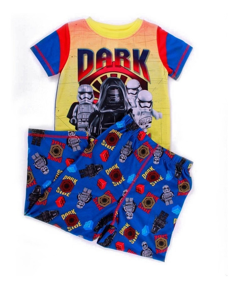 Pijama Para Niño Lego Star Wars Dark Side